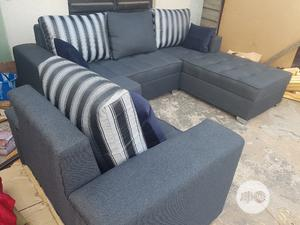 Modern Design L Shape With Single | Furniture for sale in Lagos State, Gbagada
