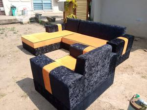 Modern Design L Shape With Single | Furniture for sale in Lagos State, Victoria Island
