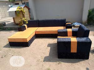 Modern Design L Shape With Single | Furniture for sale in Lagos State, Ajah