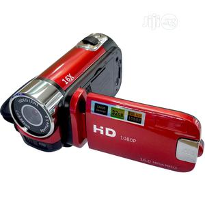 HD Digital Video Camcorder Recorder 16MP 12X Zoom | Photo & Video Cameras for sale in Lagos State, Ikeja