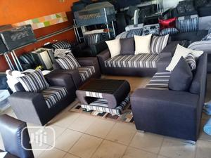 Set of 7 Seaters Sofa Chairs and Table. Fabrics Couches | Furniture for sale in Lagos State, Alimosho
