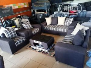 Set of 7 Seaters Sofa Chairs With Table. Fabric Couches | Furniture for sale in Lagos State, Gbagada