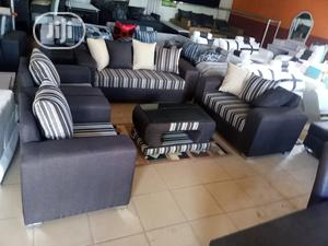 Set of 7 Seaters Sofa Chairs With Table. Fabric Couch | Furniture for sale in Lagos State, Ikotun/Igando