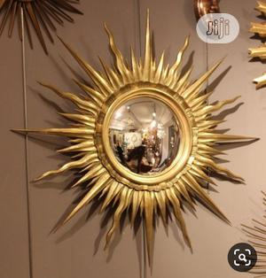 Wall Gold Decorative Mirror | Home Accessories for sale in Lagos State, Surulere