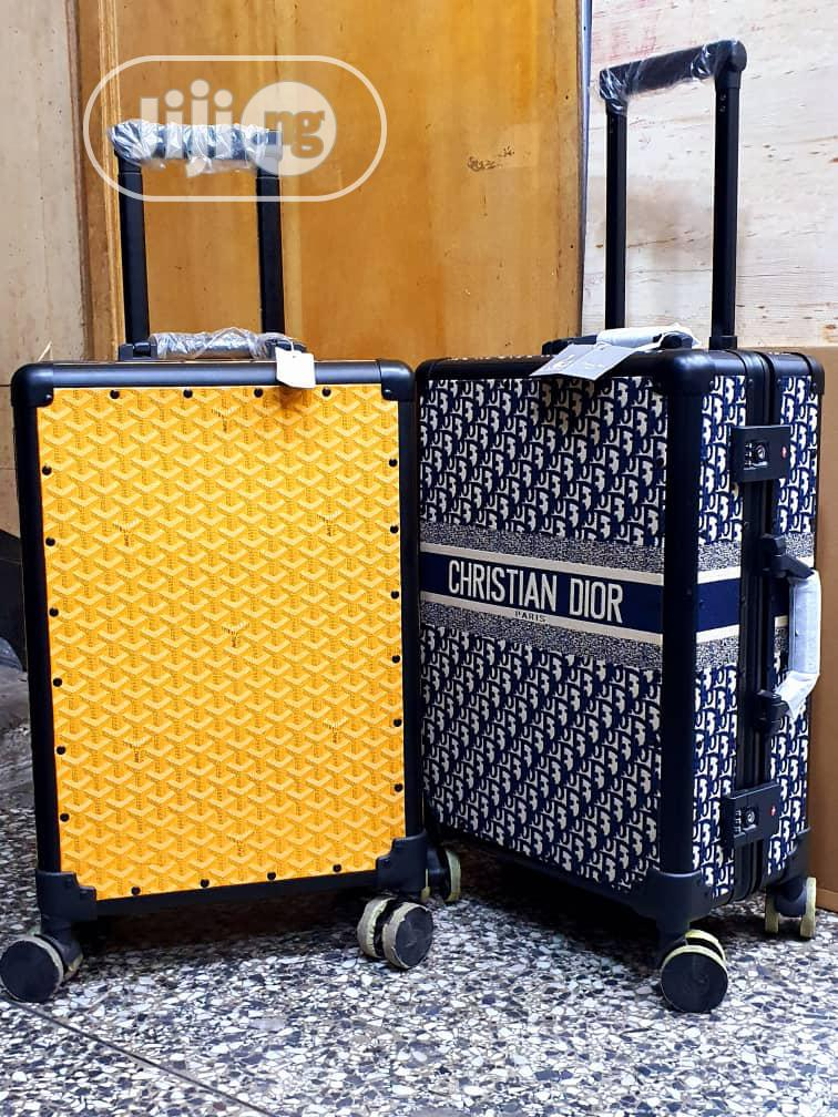 Christian Dior Suitcase Traveling Bags