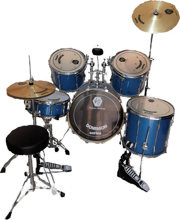 Dominon Virgin Drum Set