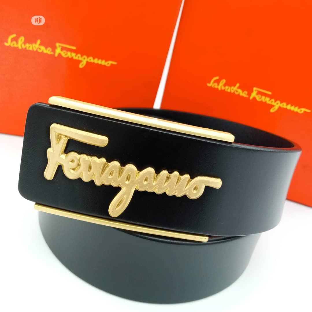 Archive: Ferragamo Designers Belt.