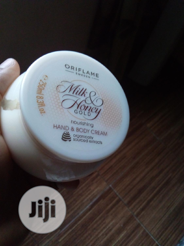 Milk and Honey Body Cream-250ml