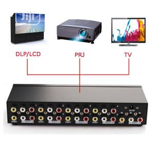 8 Ports RCA Video Audio AV Splitter Switcher TV DVD Monitor | Accessories & Supplies for Electronics for sale in Abuja (FCT) State, Gwarinpa
