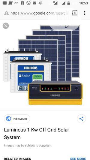 1.5kva 24v Luminous Solar Inverter | Solar Energy for sale in Lagos State, Lekki