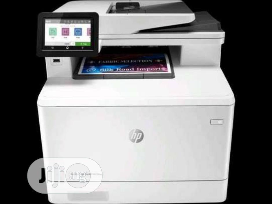 The HP Color Laserjet Pro MFP M479fdw