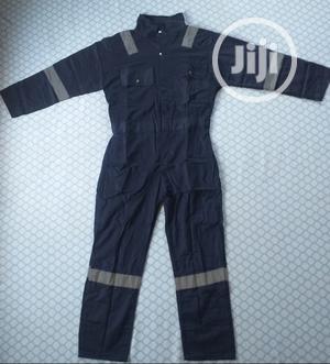 Reflective Work Coverall 100% Cotton, Heat Resistant   Safetywear & Equipment for sale in Lagos State, Amuwo-Odofin