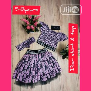 Dior Skirt And Top   Children's Clothing for sale in Enugu State, Enugu