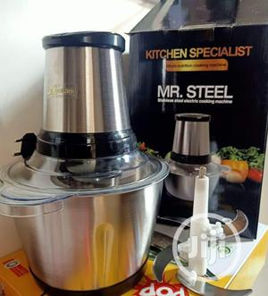 Mr Steel Food Processor and Yam Pounder | Kitchen Appliances for sale in Lagos State, Abule Egba