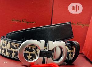 Ferragamo Leather Belt for Men's | Clothing Accessories for sale in Lagos State, Lagos Island (Eko)