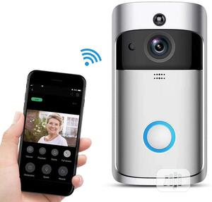 V5 Smart Wireless Video Doorbell Camera With 2-way Audio | Home Appliances for sale in Abuja (FCT) State, Gwarinpa