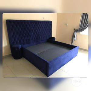 New Set Of Bed Frame With Lamp Stand | Furniture for sale in Lagos State, Ikoyi