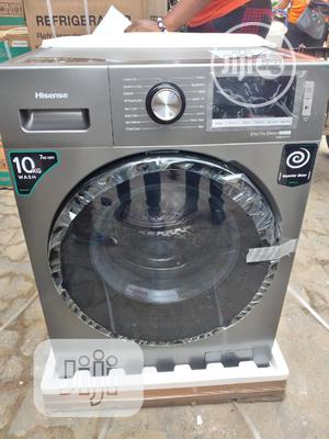 Hisense Washer Dryer (10kg/ 7kg) Automatic Front Loader | Home Appliances for sale in Lagos State, Ojo