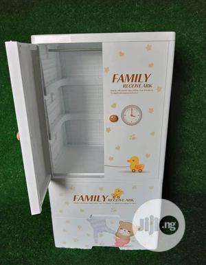 Plastic Baby Cabinet/ Walldrope Hanger and 2 Drawer Layer   Children's Furniture for sale in Lagos State, Ajah