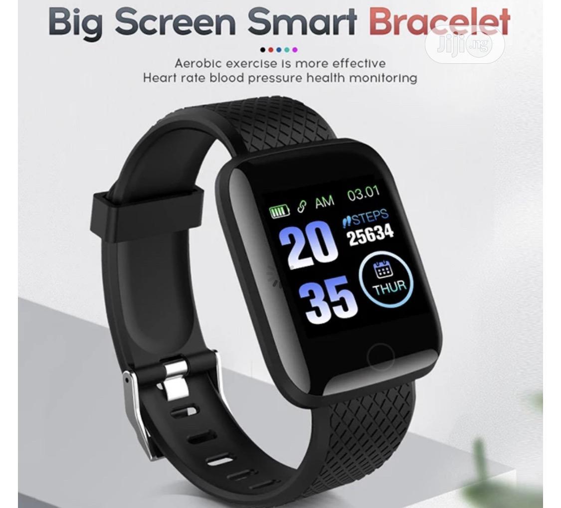 Waterproof Smart Bracelet Wristwatch For Men And Women