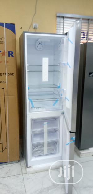 Polystar (228L) Door Fridge Bottom Freezer (PVDF326L) | Kitchen Appliances for sale in Lagos State, Ojo