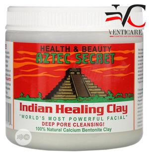 Aztec Secret, Indian Healing Clay, 1 Lb 454g   Skin Care for sale in Lagos State, Ojo