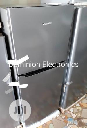 New Hisense Double Doors Fridge 130L (182DR) Warranty | Kitchen Appliances for sale in Lagos State, Ojo