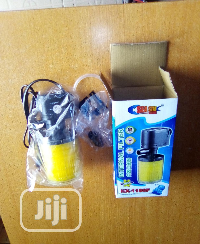Internal Mini Aquarium Hx1180f Filter | Pet's Accessories for sale in Surulere, Lagos State, Nigeria