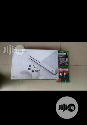 Brand New Xbox One S Console With 2 Games Cd Inside   Video Game Consoles for sale in Lagos State, Oshodi