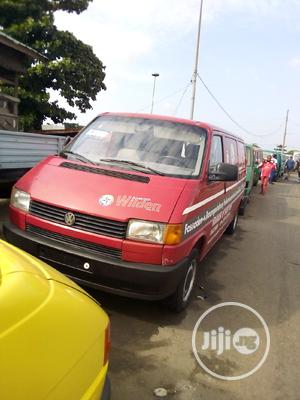 Volkswagen Red T4 Transporter Bus   Buses & Microbuses for sale in Lagos State, Apapa