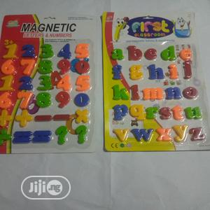 Magnetic Numbers Magnetic Alphabet | Books & Games for sale in Lagos State, Ikeja