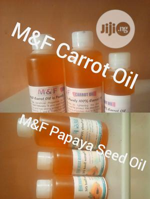 M&F Carrot And Papaya Seed Oil   Skin Care for sale in Kano State, Gwale