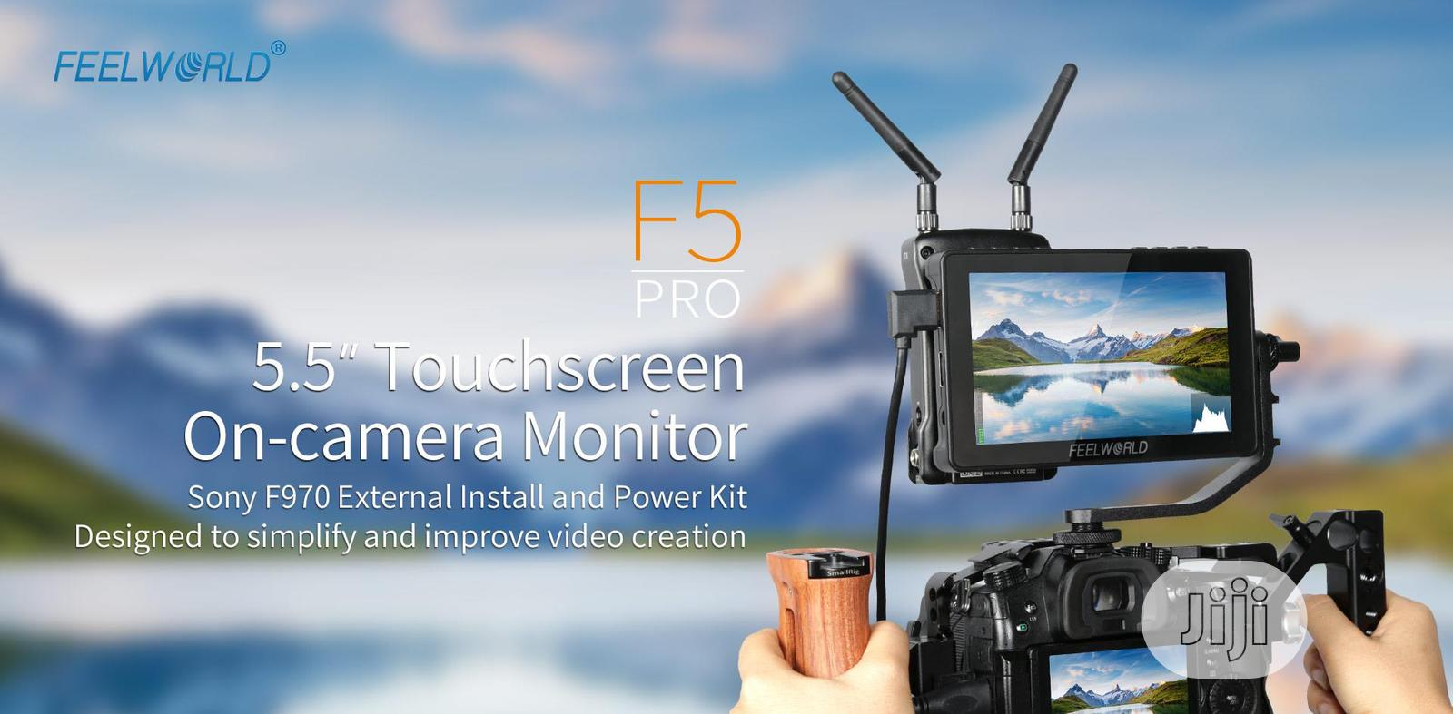 """Feelworld F5 Pro 5.5"""" 4K Fullhdmi IPS Touchscreen Monitor 