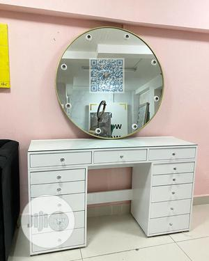 Luxury Make-Up Dressing Mirror With Light | Home Accessories for sale in Lagos State, Lekki
