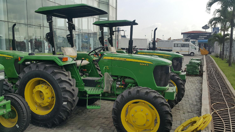 Brand New 5065E (65hp) John Deere Tractor