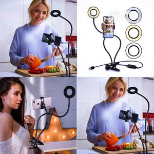 Phone Stand With Selfie Ring Light Professional Phone Stand | Accessories for Mobile Phones & Tablets for sale in Lagos State, Ikeja