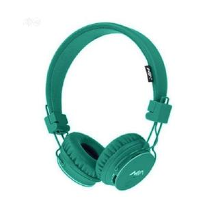 NIA X3 4 In 1 Bluetooth Stereo Headset Green | Headphones for sale in Lagos State, Ikeja