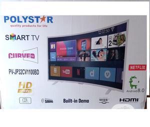 "Polystar PV-JP32CV1100BD 32"" Curve TV | TV & DVD Equipment for sale in Lagos State, Alimosho"