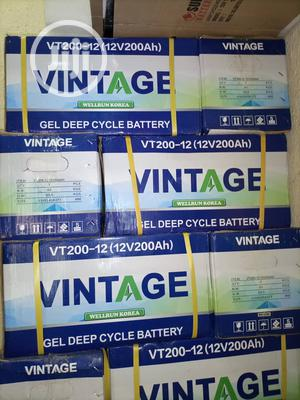 Vintage Inverter Battery 200ah | Electrical Equipment for sale in Lagos State, Ojo