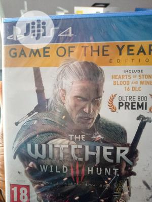 Ps 4 Game The Witcher Wild Hunt   Video Games for sale in Lagos State, Ikeja