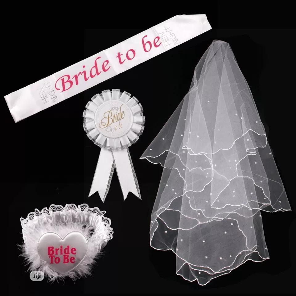 Wedding And Bridal Shower Accessory Set