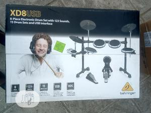 Behringer 8pieces Electronic Drum Set With 123 Sound   Musical Instruments & Gear for sale in Lagos State, Ojo