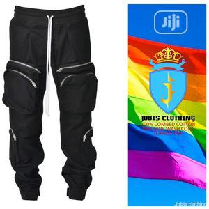 Men Premium Black Combat Cargo Pant   Clothing for sale in Lagos State, Lagos Island (Eko)