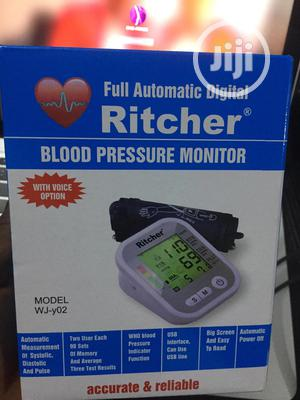 Full Automatic Digital Blood Pressure Monitor   Medical Supplies & Equipment for sale in Lagos State, Ikeja