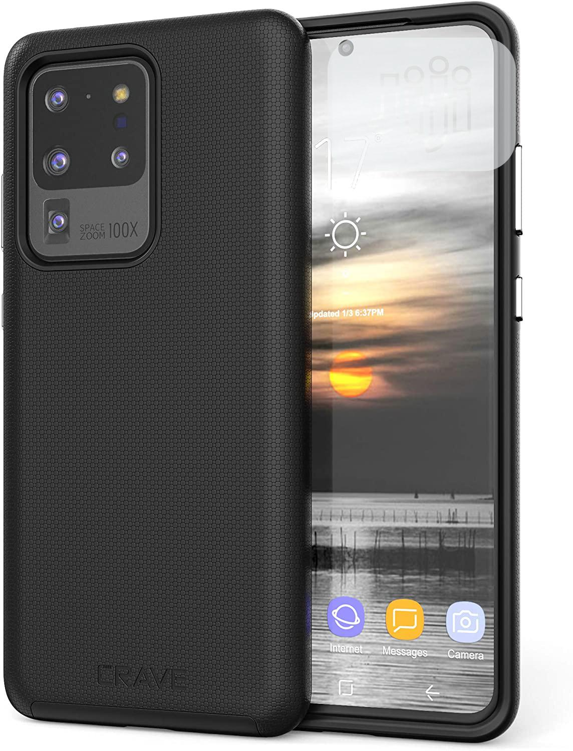 USA Crave S20 Ultra Case, Dual Guard Protection Series S20