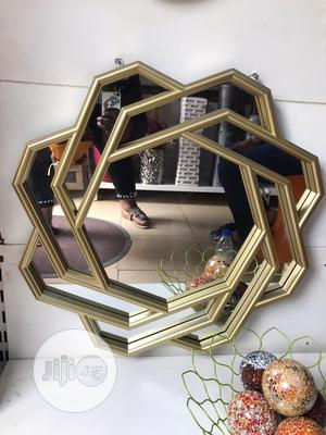 Gold Classy Mirror   Home Accessories for sale in Lagos State, Agege