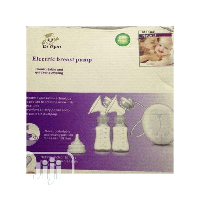 Dr Gym Double Electric Breast Pump for Nursing Mother