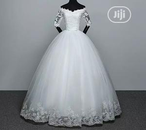 Off White Ball Wedding Dress for Sale   Wedding Wear & Accessories for sale in Abuja (FCT) State, Lugbe District