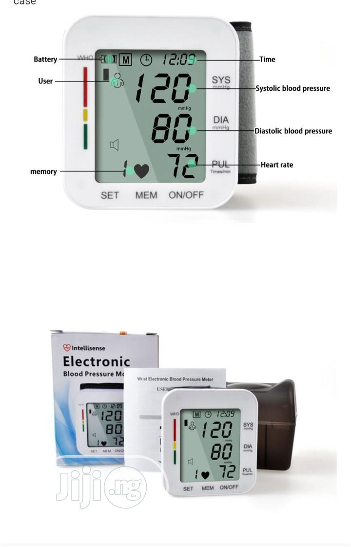 Archive: Wrist Electronic Blood Pressure Monitor