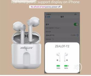 Zealot T2 - Tws Wireless Bluetooth Earphone   Headphones for sale in Lagos State, Ikeja